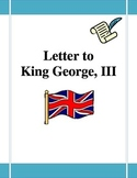 Letter to King George, III