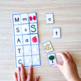 Letter to Letter to Sound Matching Mats Phonics Learn Letters and Sounds