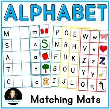 Letter to Letter to Sound Matching Mats Phonics Learn Lett