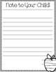 Letter to Parent & Child Template