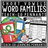 Word Family Activities & Short Vowel Practice Worksheets •