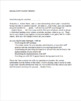 Letter to Parent from IEP Case Manager