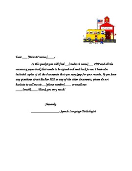 Letter to parents when sending home iep by amanda alexandra tpt letter to parents when sending home iep spiritdancerdesigns Choice Image