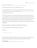 Letter to Parents about Low Test Scores (English & Spanish)