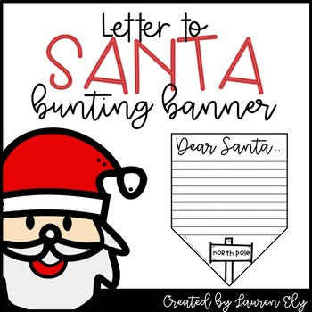 Letter to Santa Bunting Banner