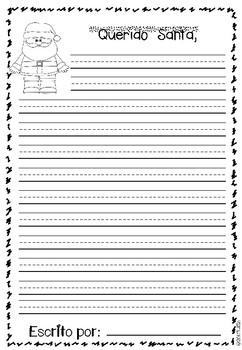 Letter to Santa / Carta para Santa
