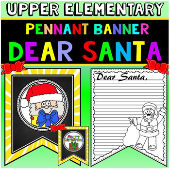 "Letter to Santa: ""Dear Santa"" Letter: Christmas Writing Activity"