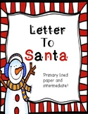 Letter to Santa **FREE**