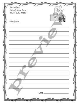 Letter to Santa - Freebie!