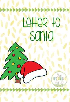 Letter to Santa K-2