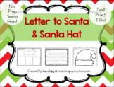 Letter to Santa & Printable Santa Hat Activity! Headband s