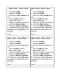 Letter to Santa - Success Criteria Checklist
