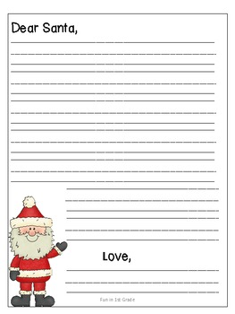 Letter to santa template free by dana lester tpt letter to santa template free spiritdancerdesigns Images