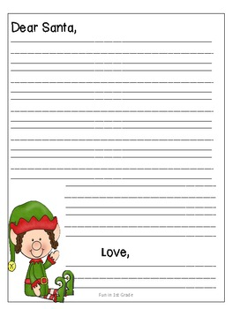 Letter to santa template free by dana lester tpt letter to santa template free spiritdancerdesigns Image collections
