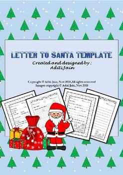 letter to santa templates blackwhite letter to santa templates blackwhite
