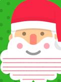 Letter to Santa writing frame