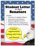 Student Letter to Senator:  Argumentative Writing & Civics