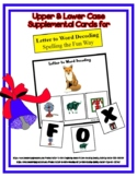 Letter to Word Decoding Strips / Mats Supplemental Cards - FREE