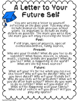 Letter to Your Future Self: Step-by-Step Writing