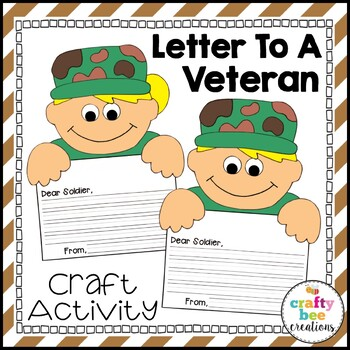 Letter to a Veteran Craftivity