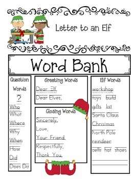 Write a Letter to an Elf