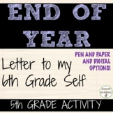 End of Year Activity 5th grade