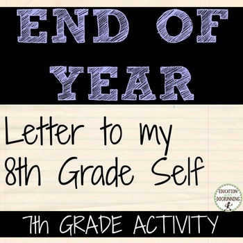 End of Year Activity 7th grade that ROCKS