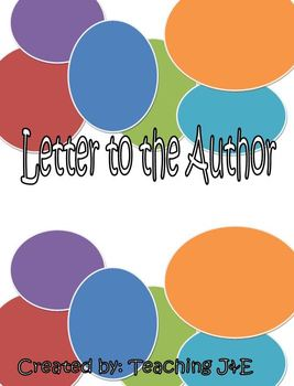 Letter to the Author Plus Rubric