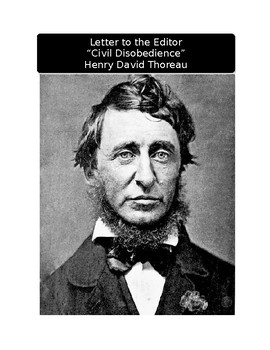 "Letter to the Editor: Henry David Thoreau and ""Civil Disobedience"""