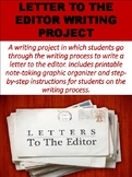 Letter to the Editor Writing Project