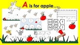 Learning Letter of the Week: Aa is for Apple Activities