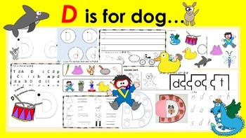 Learning Letter of the Week: Dd is for Dog Activities