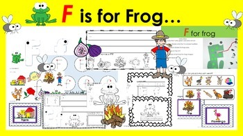 Learning Letter of the Week: Ff is for Frog Activities