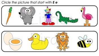 Learning Letter of the Week: Ee is for Egg Activities