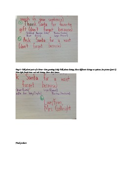 Letter/Opinion to Santa