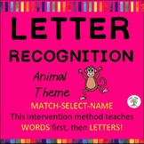Letter Recognition, Letter Identification: Animals (Down S