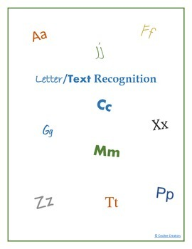 Letter/Text Recognition of Different Fonts