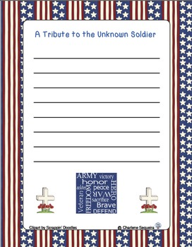 Letter/Tribute to the Unknown Soldier