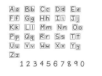 Letterbox Font!