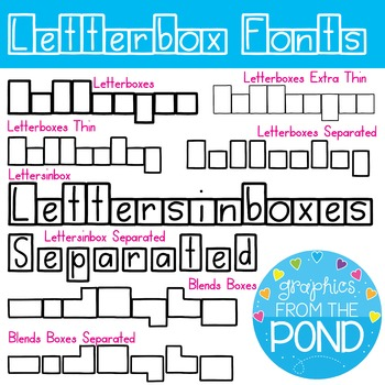 Fonts letterbox fonts graphics from the pond by graphics from fonts letterbox fonts graphics from the pond spiritdancerdesigns Images