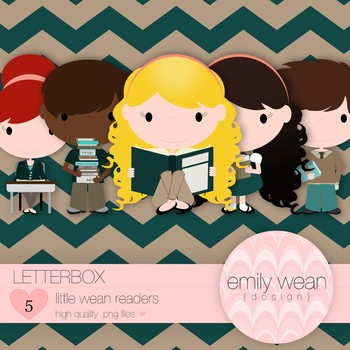 Letterbox - Little Readers Clip Art