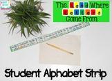 Letterland Alphabet Strip