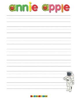 Letterland Annie Apple Vocabulary Writing Pages Color By Impyink