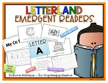 Letterland Emergent Reader {Letter A}
