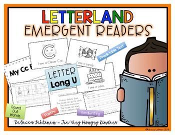 Letterland Emergent Reader {Letter LONG U}