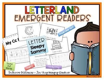 Letterland Emergent Reader {Letter S} {Sleepy Sammy}