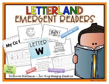 Letterland Emergent Reader {Letter W}