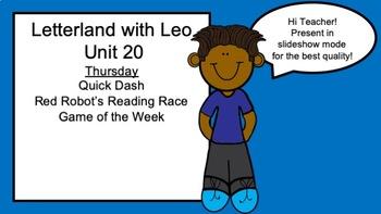 Distance Learning Letterland Grade 1 Unit 11-20 Bundle