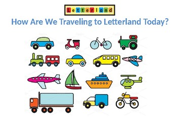 Letterland Interactive PowerPoint (G-L)