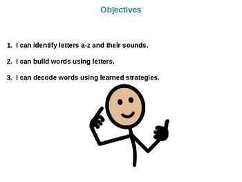 Letterland Interactive PowerPoint (Kindergarten Lessons 123-137)